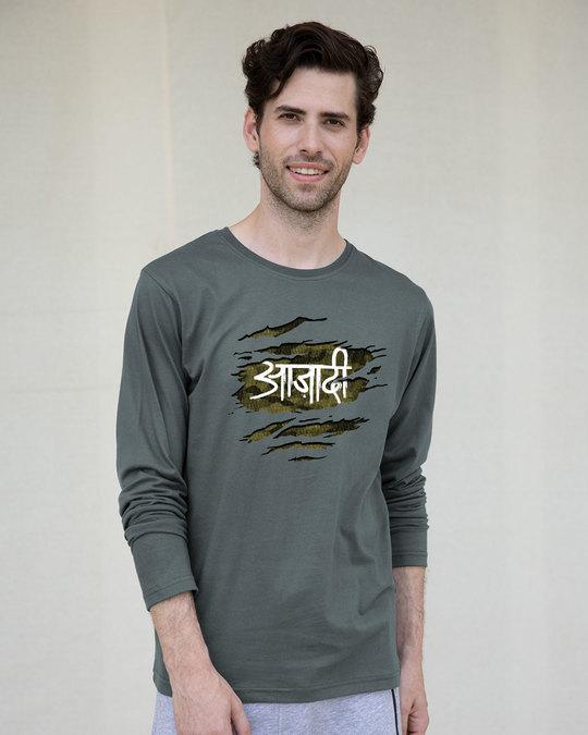 Shop Azaadi Full Sleeve T-Shirt-Front
