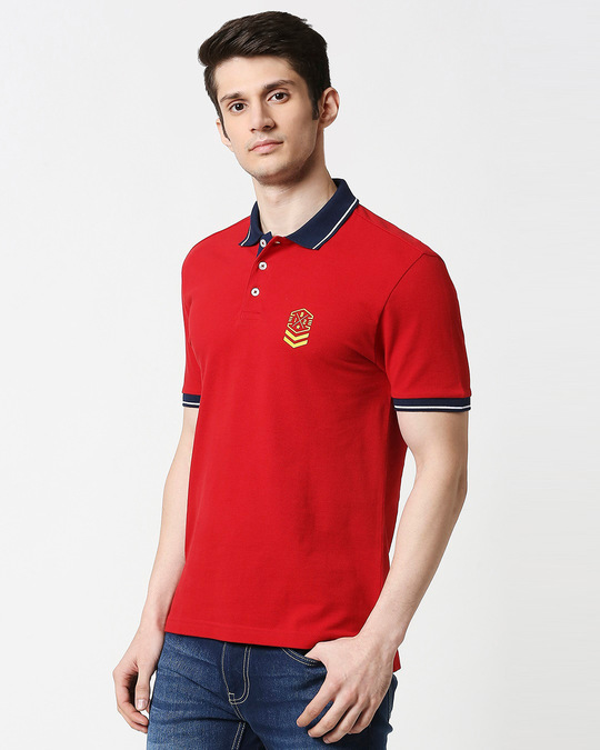 Shop B12 Chili Pepper Half Sleeve Tipping polo-Design