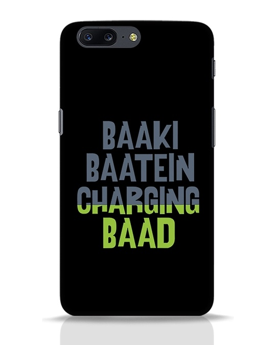 Shop Baaki Baatein Charging Baad OnePlus 5 Mobile Cover-Front