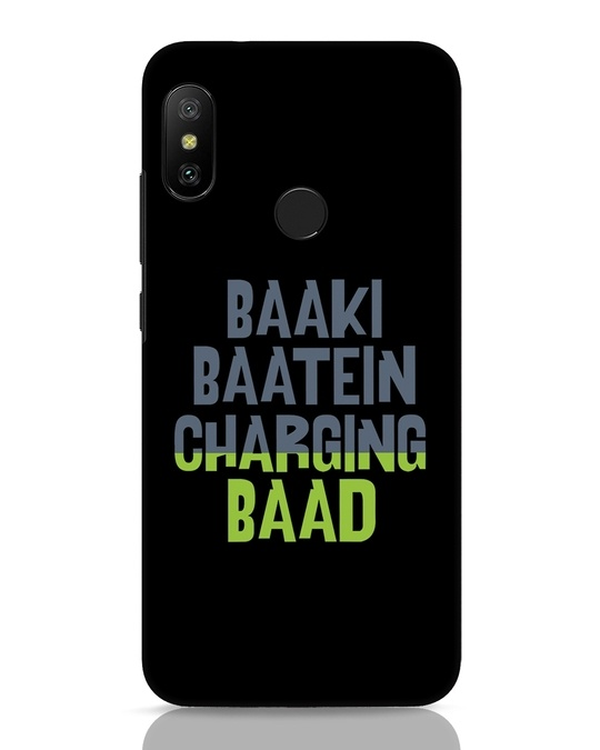 Shop Baaki Baatein Charging Baad Xiaomi Redmi 6 Pro Mobile Cover-Front