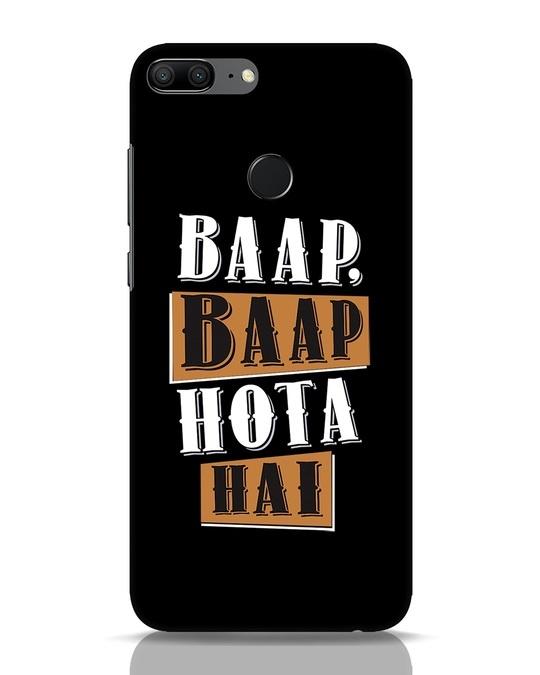 Shop Baap Baap Hota Hai Huawei Honor 9 Lite Mobile Cover-Front