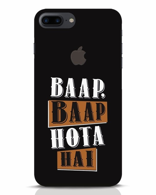 Shop Baap Baap Hota Hai iPhone 7 Plus Logo Cut Mobile Cover-Front