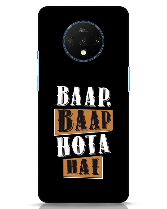 Shop Baap Baap Hota Hai OnePlus 7T Mobile Cover-Front
