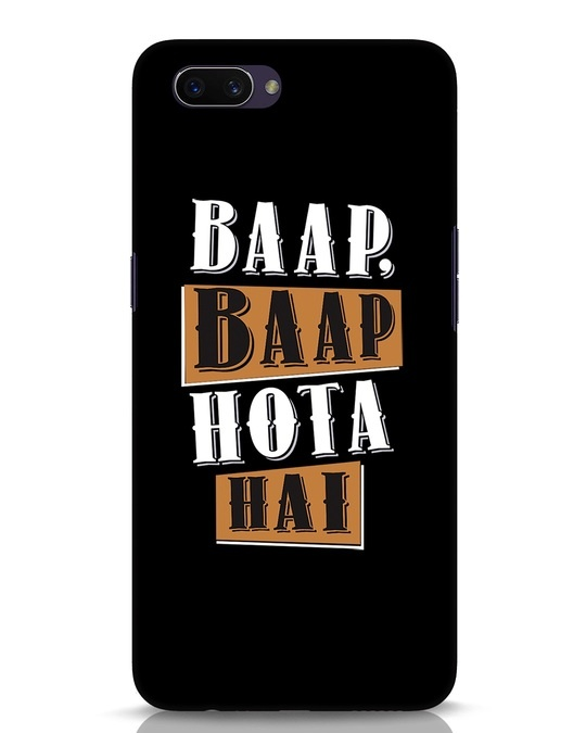Shop Baap Baap Hota Hai Oppo A3S Mobile Cover-Front