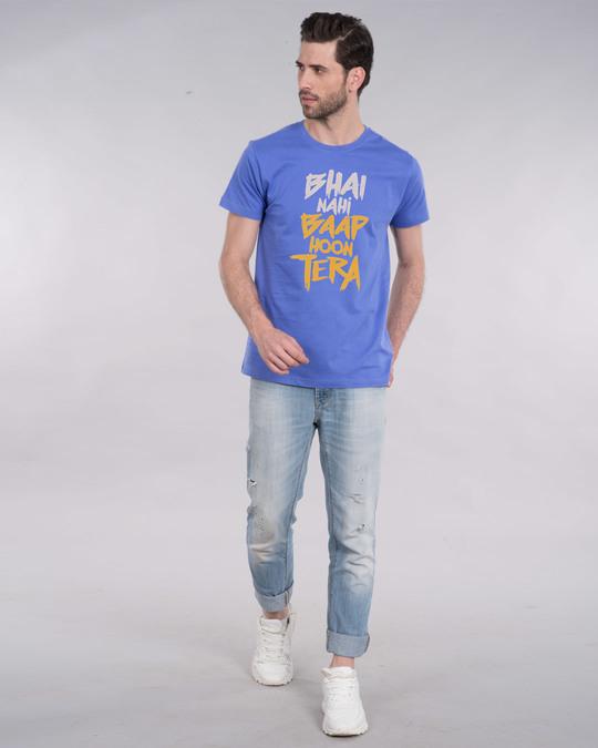 Shop Baap Hoon Tera Half Sleeve T-Shirt-Full