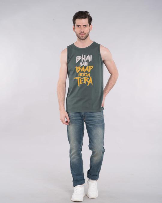 Shop Baap Hoon Tera Vest-Full
