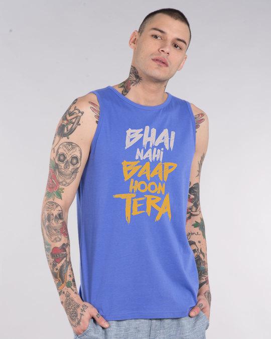 Shop Baap Hoon Tera Vest-Front