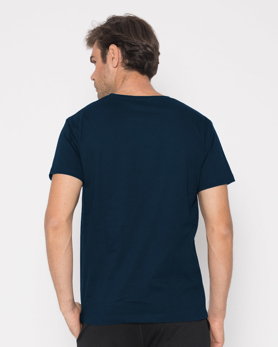 Shop Baap Ko Mat Sikha Half Sleeve T-Shirt-Full