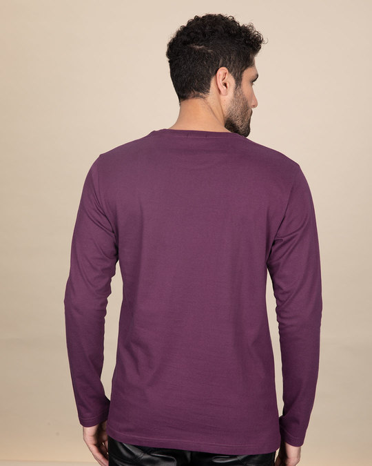 Shop Baap Se Panga Mat Le Full Sleeve T-Shirt-Back