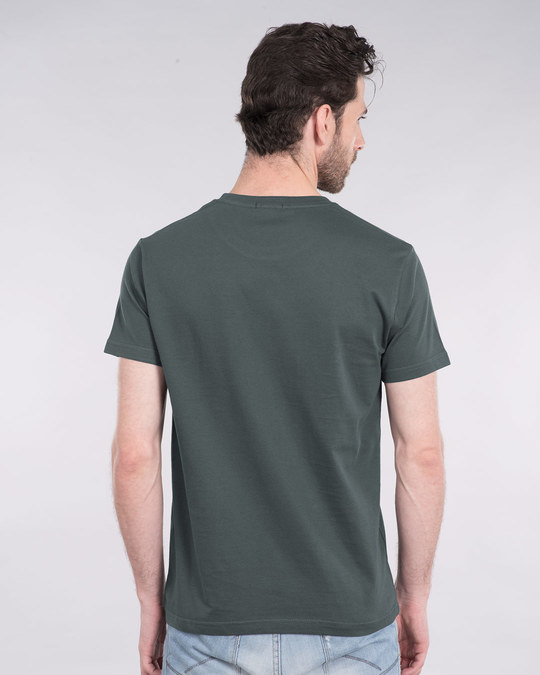 Shop Baap Se Panga Mat Le Half Sleeve T-Shirt-Back