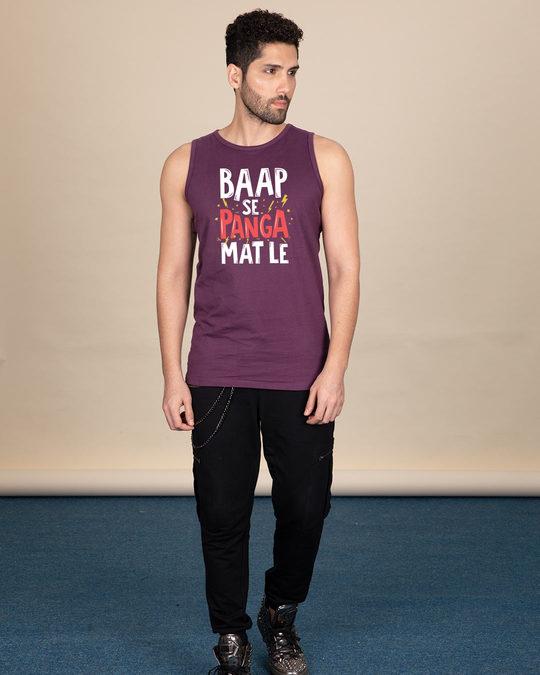 Shop Baap Se Panga Mat Le Vest-Full