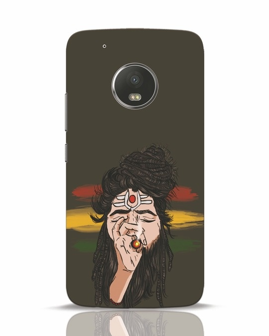 Shop Baba Moto G5 Plus Mobile Cover-Front