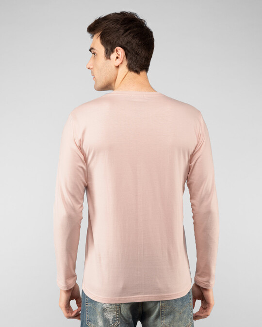 Shop Baby Pink Full Sleeve T-Shirt-Design