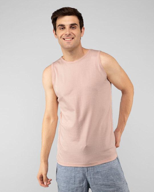 Shop Baby Pink Vest-Front