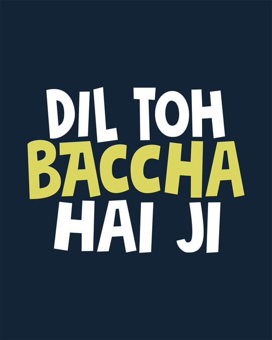 Shop Bachcha Dil Full Sleeve T-Shirt