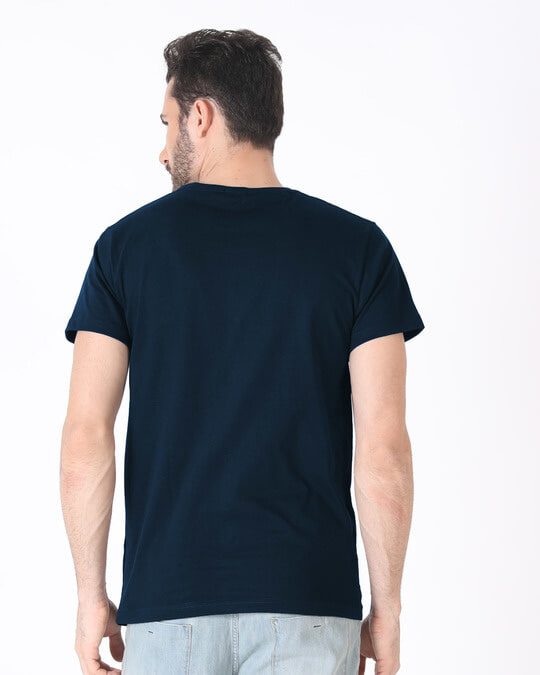 Shop Back Down Never Half Sleeve T-Shirt