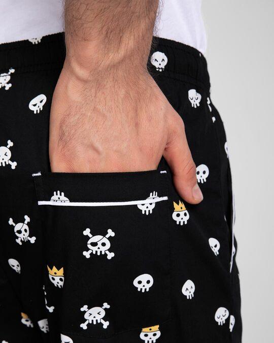 Shop Back To Skull All Over Printed Pyjama