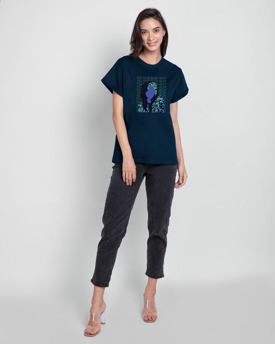 Shop Bad Billie Boyfriend T-Shirt-Full