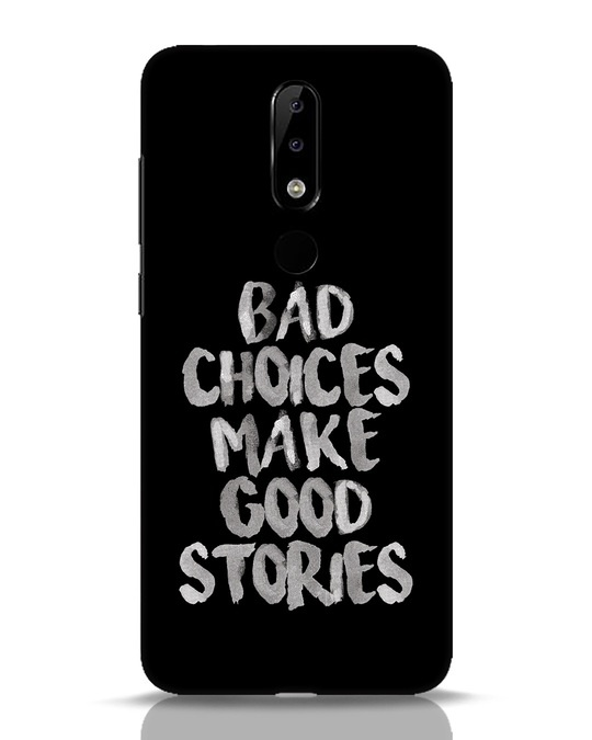 Shop Bad Choices Nokia 5.1 Plus Mobile Cover-Front