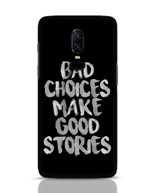 Shop Bad Choices OnePlus 6 Mobile Cover-Front