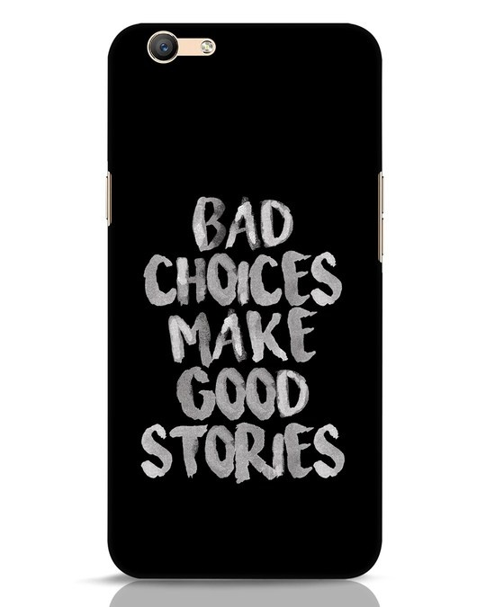 Shop Bad Choices Oppo F1s Mobile Cover-Front
