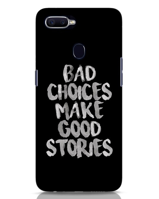 Shop Bad Choices Oppo F9 Pro Mobile Cover-Front