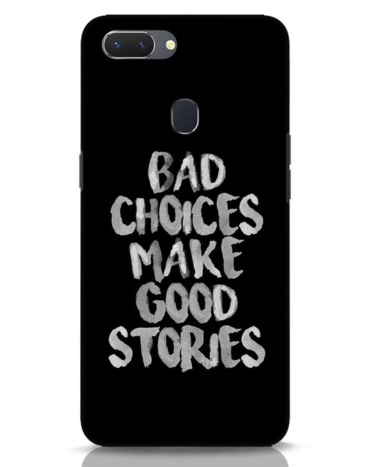 Shop Bad Choices Realme 2 Mobile Cover-Front