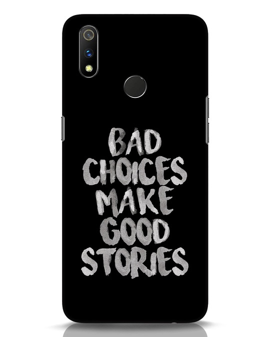 Shop Bad Choices Realme 3 Pro Mobile Cover-Front