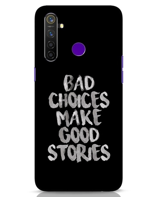 Shop Bad Choices Realme 5 Pro Mobile Cover-Front