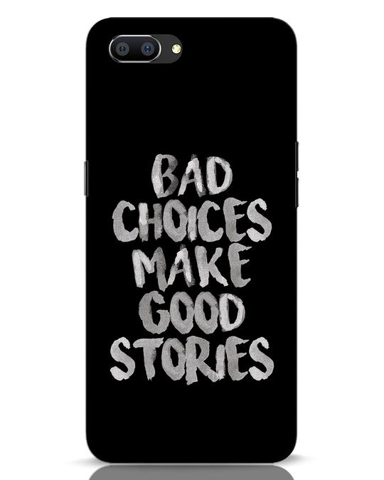 Shop Bad Choices Realme C1 Mobile Cover-Front