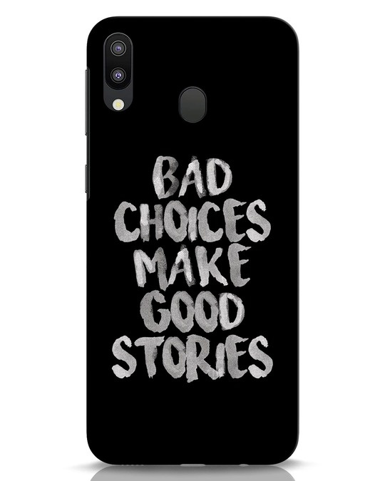 Shop Bad Choices Samsung Galaxy M20 Mobile Cover-Front