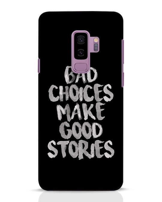Shop Bad Choices Samsung Galaxy S9 Plus Mobile Cover-Front