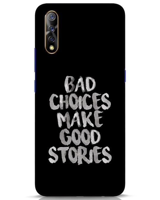 Shop Bad Choices Vivo S1 Mobile Cover-Front