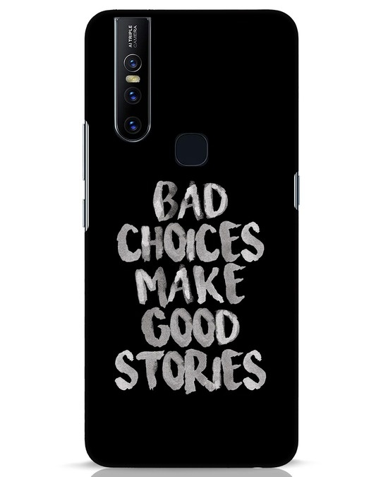 Shop Bad Choices Vivo V15 Mobile Cover-Front
