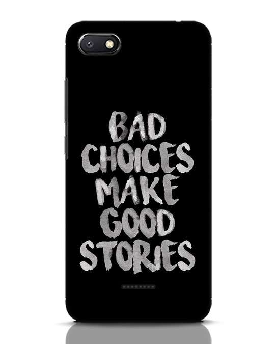 Shop Bad Choices Xiaomi Redmi 6A Mobile Cover-Front