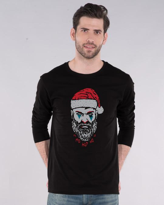 Shop Bad Santa Full Sleeve T-Shirt-Front