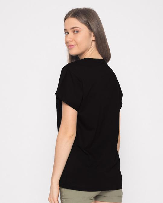 Shop Baghtos Kay Mujra Kar Boyfriend T-Shirt-Full