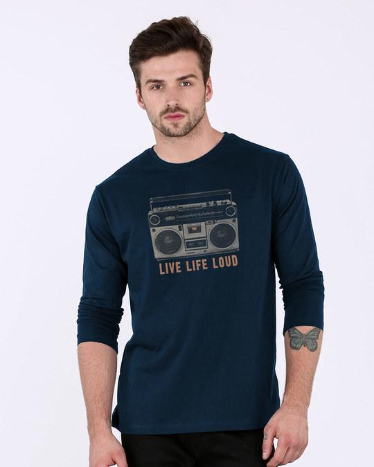 Shop Band Baja Box Full Sleeve T-Shirt-Front