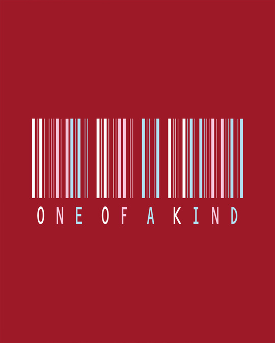 Shop Barcode One Of A Kind Boyfriend T-Shirt-Full
