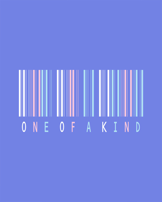 Shop Barcode One Of A Kind Scoop Neck Full Sleeve T-Shirt-Full