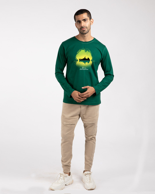 Shop Bare Necessities Full Sleeve T-Shirt (DL)-Full