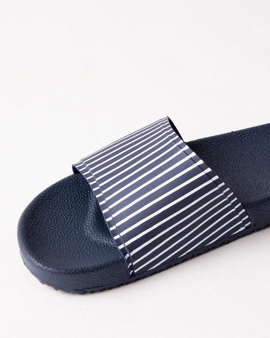 Shop Women Basic Stripes Sliders