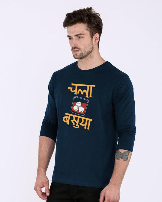 Shop Basuya Full Sleeve T-Shirt-Back