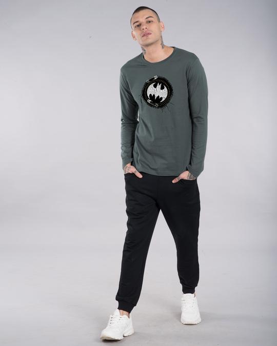Shop Batman Applique Full Sleeve T-Shirt (BML)-Design