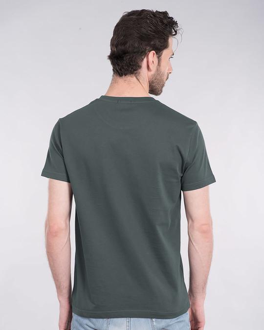 Shop Batman Applique Half Sleeve T-Shirt (BML)-Back