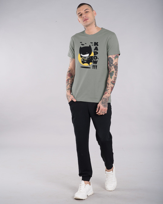 Shop Batman Chibi Half Sleeve T-Shirt (BML)-Full