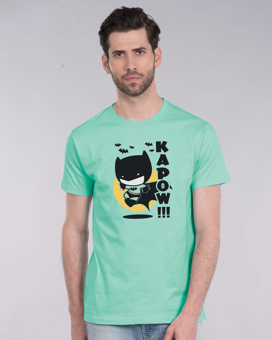 Shop Batman Chibi Half Sleeve T-Shirt (BML)-Back