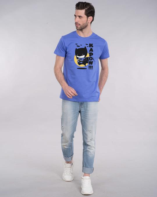 Shop Batman Chibi Half Sleeve T-Shirt (BML)-Full