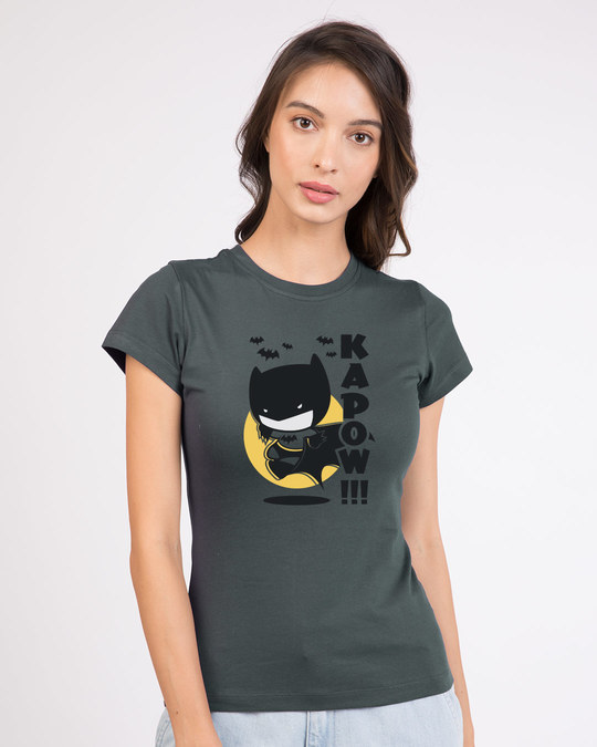 Shop Batman Chibi Half Sleeve T-shirt (BML)-Front