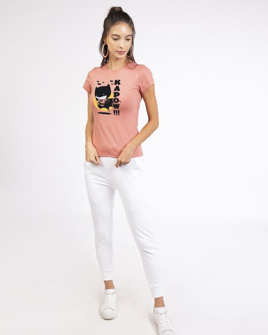 Shop Batman Chibi Round Neck T-Shirt (BML)-Design